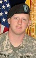 Army Chief Warrant Officer 2 Christian P. Humphreys