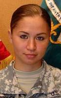 Army Spc. Mary J. Jaenichen