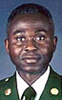Army Command Sgt. Maj. Dennis  Jallah Jr.