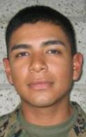 Marine Pfc. Javier  Chavez Jr.