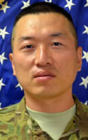 Army Spc. Jinsu  Lee
