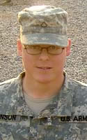 Army Spc. Geoffrey G. Johnson