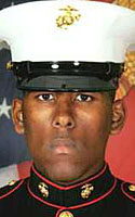 Marine Lance Cpl. Raymon A. Johnson