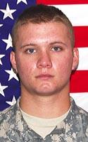 Army Pfc. Jon R. Townsend