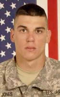 Army Pfc. Richard K. Jones