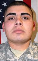 Army Spc. Koran P. Contreras