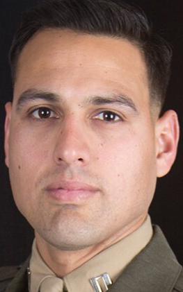 Marine Corps Capt. Moises A. Navas