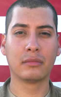 Army Spc. Levi E. Nuncio