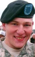 Army Pfc. James F. McClamrock