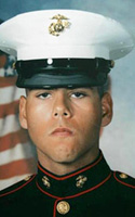 Marine Lance Cpl. Michael V. Postal