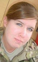 Army Spc. Mikayla A. Bragg