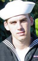 Navy Engineman 3rd Class David M. Mudge