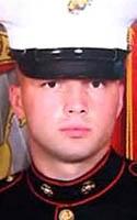 Marine Lance Cpl. Nickolas A. Daniels