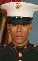 Marine Lance Cpl. Javier  Olvera