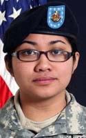 Army Pfc. Jaysine S. Petree