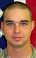 Army Pfc. Brandon T. Pickering
