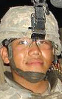 Army Spc. Qixing  Lee