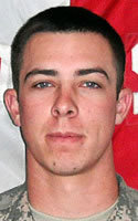 Army Spc. Matthew W. Ramsey
