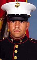 Marine Lance Cpl. Matthew G. Reza
