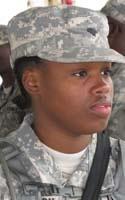 Army Sgt. Simone A. Robinson