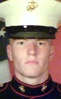 Marine Lance Cpl. Christopher B. Rodgers