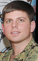 Navy Intelligence Specialist 1st Class (SW) Ryan J. Wilson