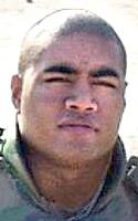 Army Staff Sgt. Salamo J. Tuialuuluu