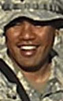 Army Staff Sgt. Solomon T. Sam