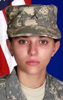 Army Spc. Sarina N. Butcher