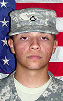 Army Spc. Sergio E. Perez Jr.