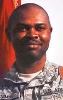 Army Capt. Kafele H. Sims