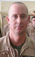 Marine Master Sgt. Travis W. Riddick