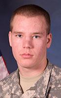 Army Spc. Tyler J. Orgaard