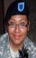 Army Pfc. Barbara  Vieyra