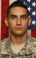 Army Pfc. Jonathan M. Villanueva