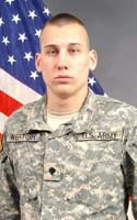 Army Spc. James D. Wertish