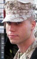 Marine Lance Cpl. Justin J. Wilson