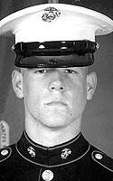 Marine Lance Cpl. Nickalous N. Aldrich