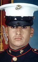 Marine Pfc. Eric A. Ayon