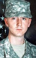 Army Pfc. David J. Bentz III
