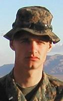 Marine 2nd Lt. Joshua L. Booth