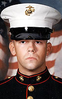 Marine Lance Cpl. Adam R. Brooks