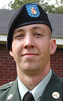 Army Pfc. John E. Brown