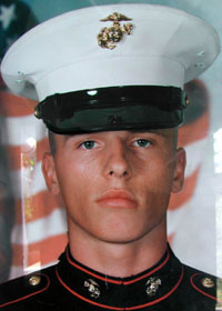 Marine Lance Cpl. Brian Rory Buesing
