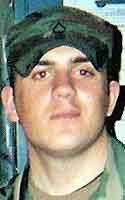 Army Spc. Dane O. Carver