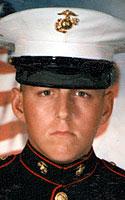Marine Lance Cpl. Steven T. Cates