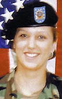 Army Spc. Jessica L. Cawvey