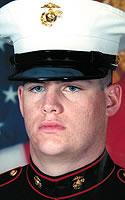 Marine Lance Cpl. Geofrey R. Cayer