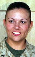 Marine Lance Cpl. Holly A. Charette
