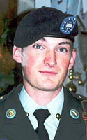Army Cpl. Michael Edward Curtin